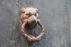 Ручка двери металла стоковая фотография