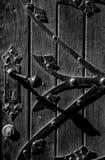 Ручка двери на двери стоковые изображения