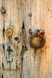 ручка двери старая Стоковое фото RF