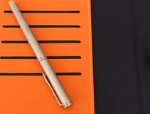 Ручка и casd Стоковое Изображение