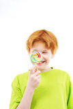 Ручка конфеты Стоковая Фотография RF