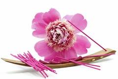 ручка ладана цветка Стоковые Изображения RF