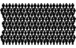 ручка людей группы Стоковые Изображения RF