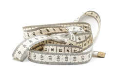 ручка метра тела Стоковая Фотография RF