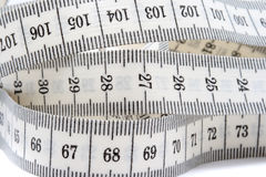 ручка метра тела Стоковые Изображения RF