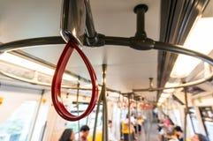 Ручка на поезде. стоковое фото