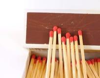ручка спички коробки Стоковое фото RF