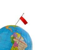 ручка флага Стоковая Фотография RF