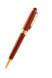Ручка шариковой авторучки на белой предпосылке Стоковая Фотография RF