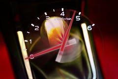 Ручка шестерни для ручной передачи для управлять в автомобиле automotiv Стоковое Изображение RF