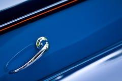 ручка двери автомобиля ретро Стоковая Фотография