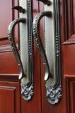 ручка двери крупного плана Стоковая Фотография RF
