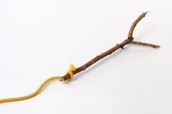 ручка деревянная Стоковые Фотографии RF