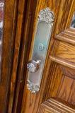 ручка n изображения двери antique близкая вверх Стоковые Фото