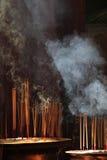 Ручки амулета в китайском tample в городке Georg. Остров Penang Стоковое Изображение RF