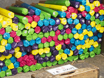 Ручки ладана, 100 иен Стоковая Фотография RF