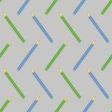 Ручки безшовной картины красочные Стоковые Фотографии RF