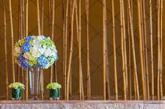 Ручки букета и bambook цветка Стоковые Изображения