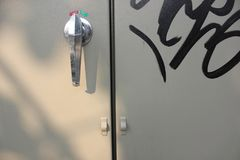 Ручки двери крупного плана стоковое фото