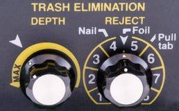 ручки детектора монетки Стоковая Фотография RF