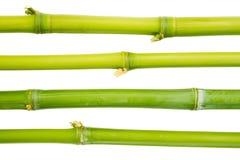 ручки изолированные бамбуком Стоковые Изображения