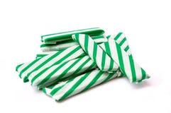ручки изолированные жевательной резиной Стоковая Фотография