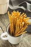 ручки кренделя солёные стоковое изображение