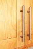 Ручки кухонного шкафа Стоковые Фотографии RF