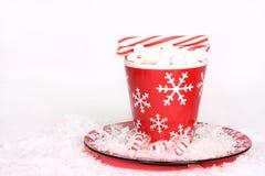 ручки пипермента какао Стоковое Фото