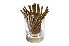 ручки посоленные стеклом Стоковая Фотография