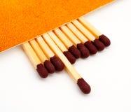 ручки ручки спички одного порожные Стоковые Фото
