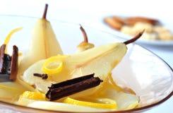 ручки салата груши плодоовощ циннамона Стоковая Фотография RF