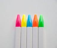 Ручки цвета Стоковые Изображения