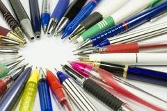 Ручки шариковой авторучки стоковые фото
