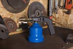 Ручная лампа факела газа стоковое изображение