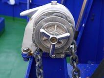 Ручное подъёмное устройство анкера Стоковое Фото
