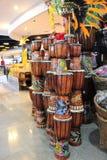 Ручной работы барабанчики Kuta, Бали Стоковая Фотография RF