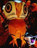 Ручной работы деревянная птица стоковая фотография rf