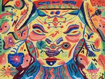 Краска стороны Totem Стоковое Изображение RF