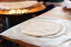 Ручной работы свежий tortilla мозоли Стоковое Фото