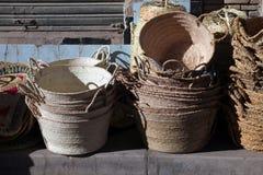Ручной работы basketry стоковые фото