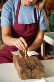 Ручной Bookbinding стоковое фото