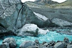 рушясь ледник Стоковое фото RF