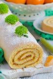 Рулада печенья с вареньем Стоковые Фотографии RF