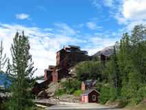 Руда Аляска золота Стоковое Изображение