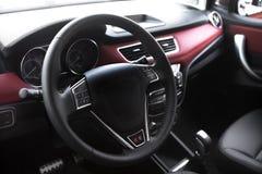 Рулевое колесо автомобиля Стоковая Фотография RF