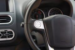 Рулевое колесо автомобиля Стоковое Изображение