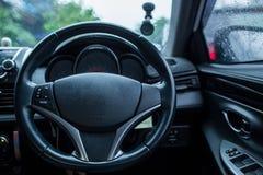 Рулевое колесо, внутреннее Стоковая Фотография