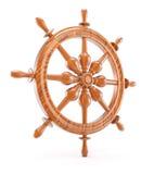 Рулевое колесо корабля Стоковая Фотография