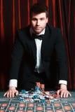 Рулетка в казино стоковая фотография rf
